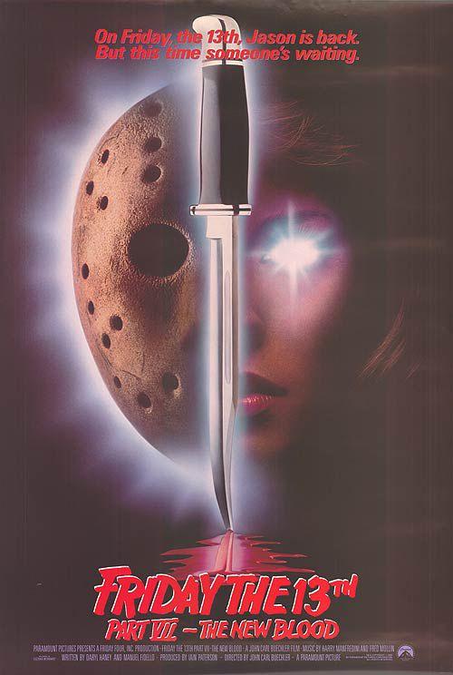 Every Friday The 13th Movie Poster Com Imagens Cartazes De