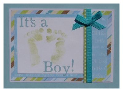 Good Make Your Own Footprint Baby Shower Invitations. Use My Technique To Look  Like REAL Baby Footprints. Make Handmade Baby Shower Invitations And Wow  Your ...