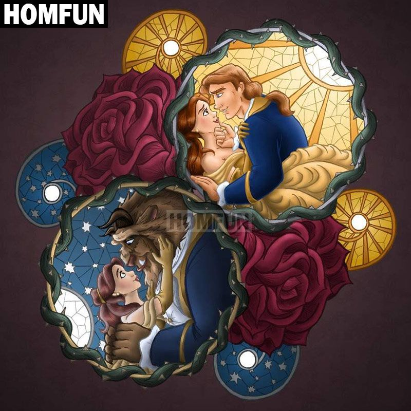 Full Square//Round Drill 5D DIY PRINCE Diamond Painting  Embroidery Cross Stitch