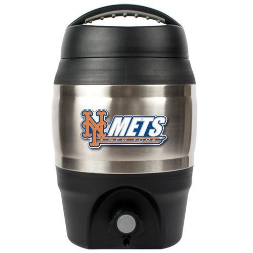 Fanway - New York Mets 1 Gallon Tailgate Keg, $34.95 (http://www.fanway.com/products/new-york-mets-1-gallon-tailgate-keg.html)