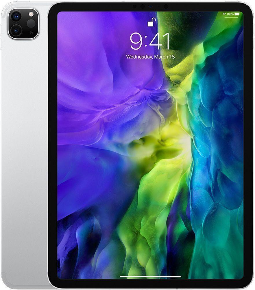 Apple Ipad Pro 11 Inch 256gb Wi Fi Cellular Silver 2020 Ipad Pro Apple Ipad Pro Apple Ipad