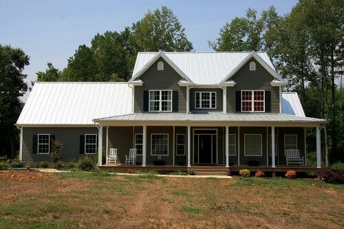 Best White Metal Roof With Dark Gray Siding Home Pinterest 400 x 300