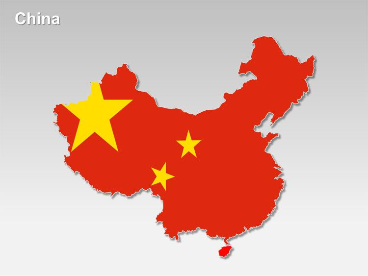 editable powerpoint map china map editable powerpoint maps