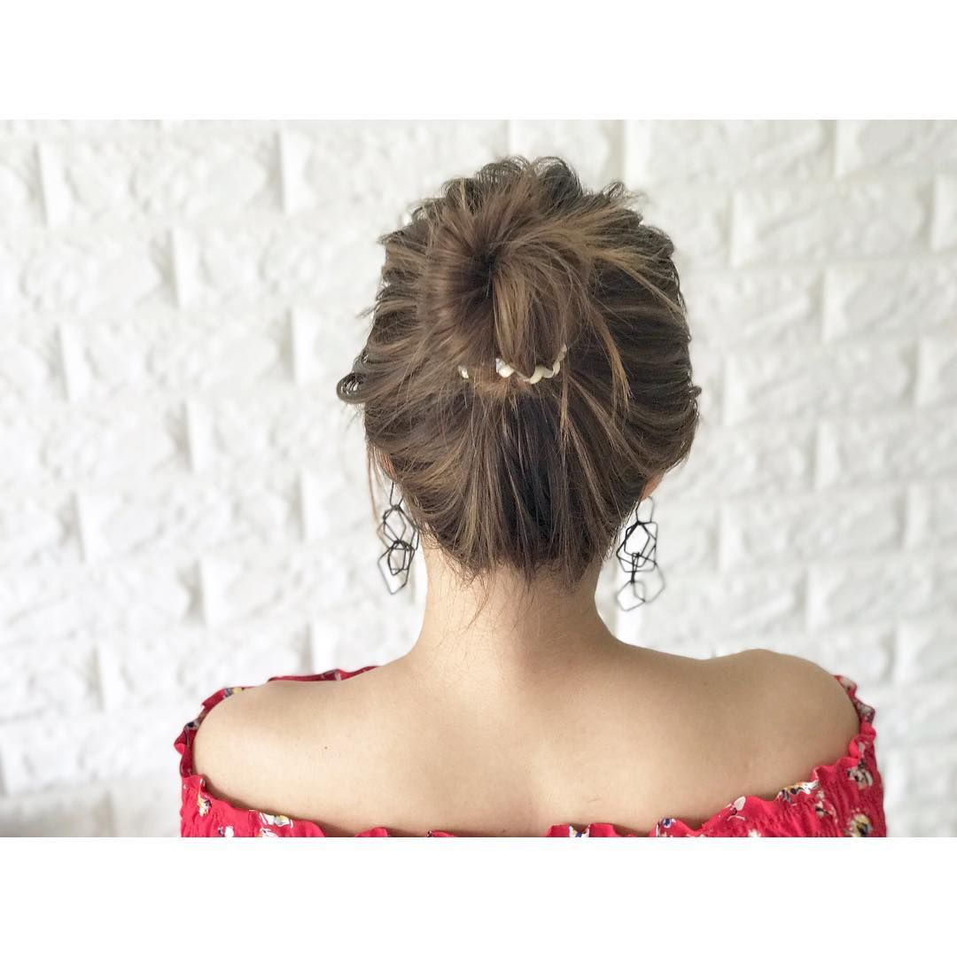 直毛さんの味方 巻かない 3分 の絶対真似したくなる可愛いヘア