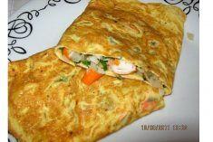 Omeleta de Delicias do Mar
