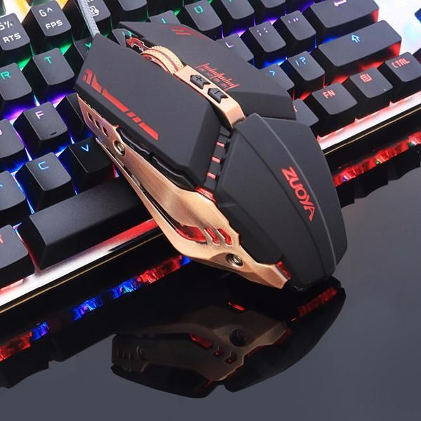 Professional Adjustable Wired Optical Gaming Mouse For Laptop PC