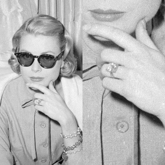 wedding ring pearly Pinterest Grace kelly