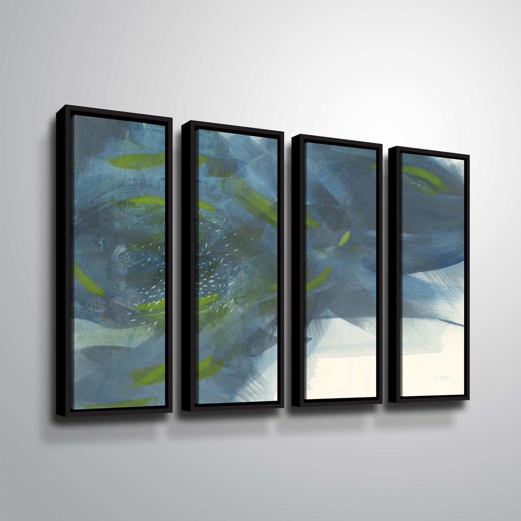 Brushstone Scatter Panel Wall Art  4 Piece Set