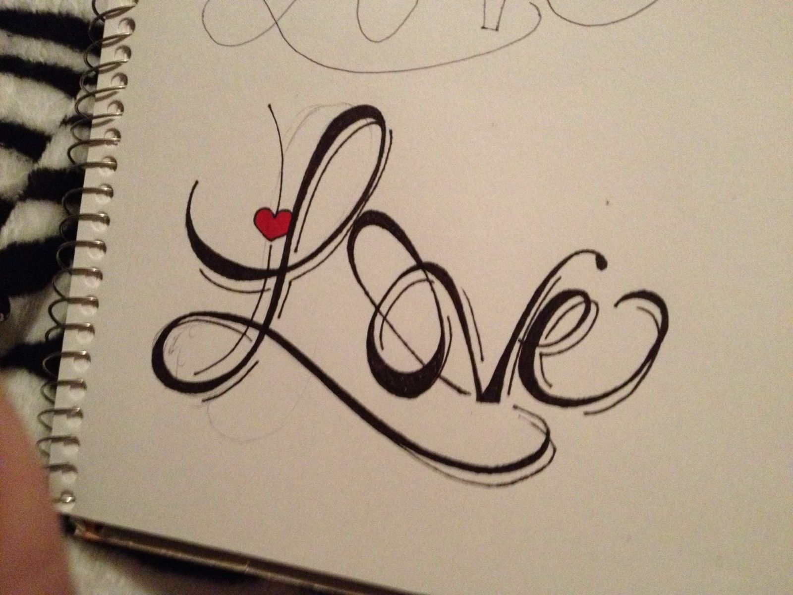 Pin By Mary Parnell Tallent On Love Easy Love Drawings Word Drawings Hand Lettering Art