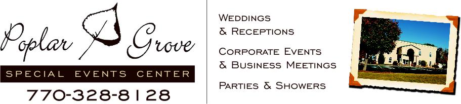 The Poplar Grove Special Event Center Event Center Corporate Events Special Events
