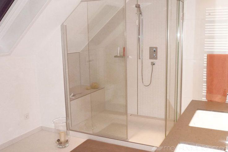 Badezimmer Dusche Dachschräge  Dusche in Dachschräge Bad Ideen - badezimmer dachschrge