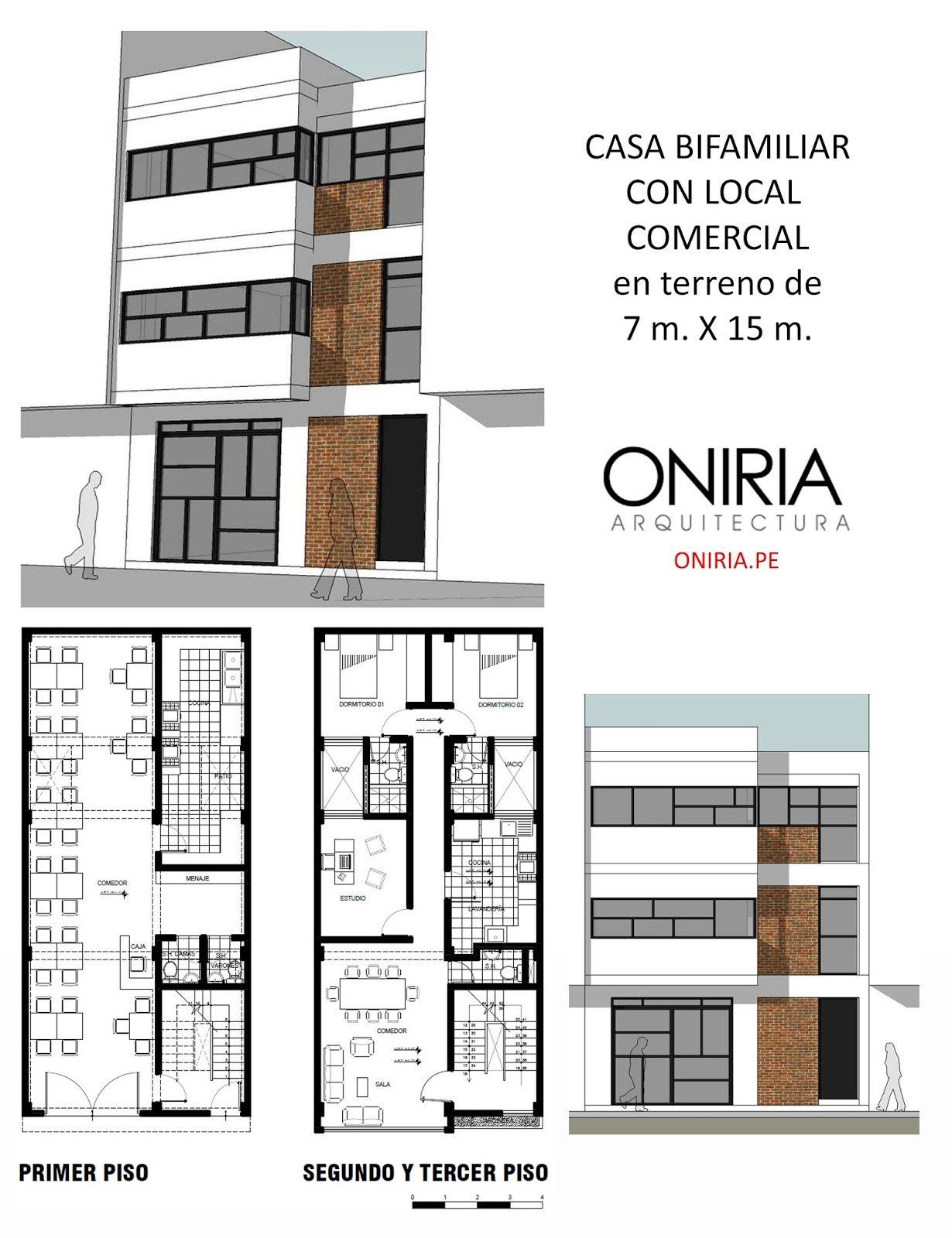 Cristian campos interiores y distribuci n casas for Niveles en planos arquitectonicos