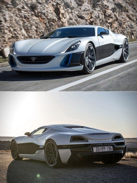 Renault TreZor Electric GT Can Do 0 60 Under 4 Seconds BUT Rimac Concept