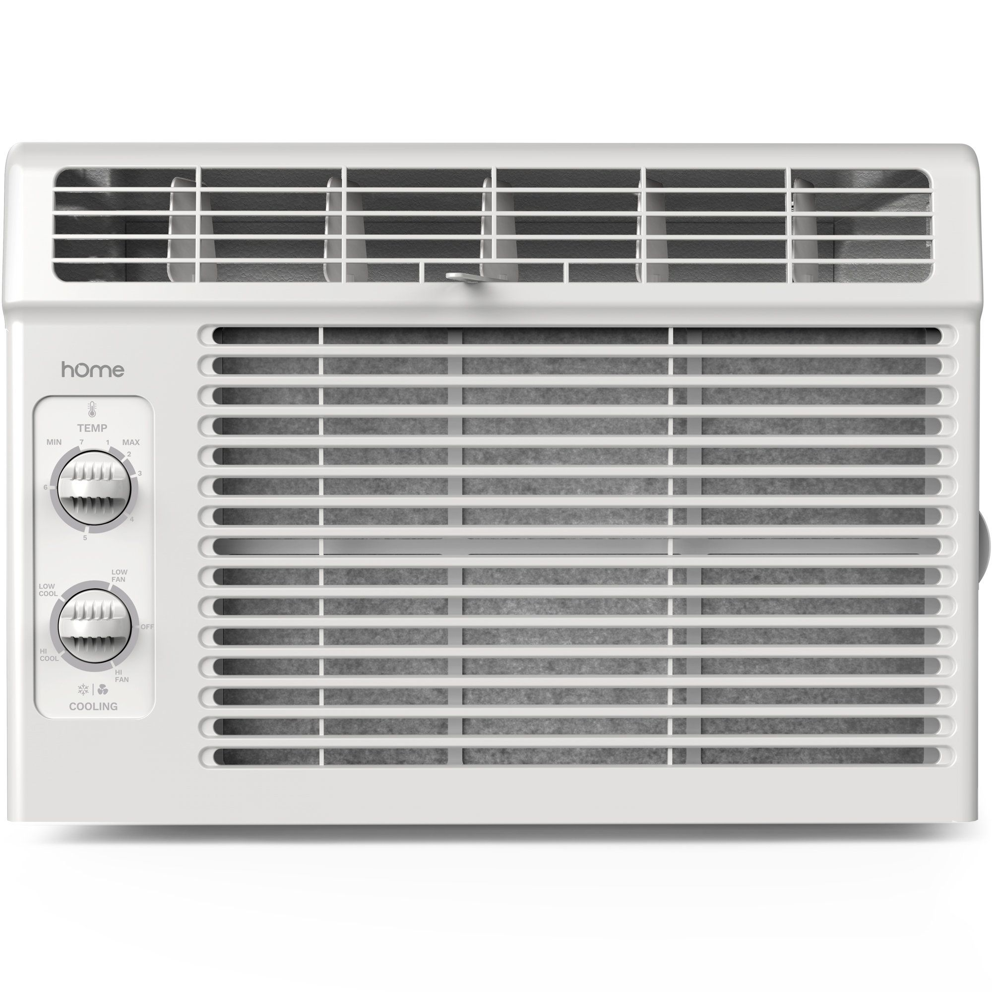hOme 5000 BTU Window Mounted Air Conditioner - Compact 7-speed ...