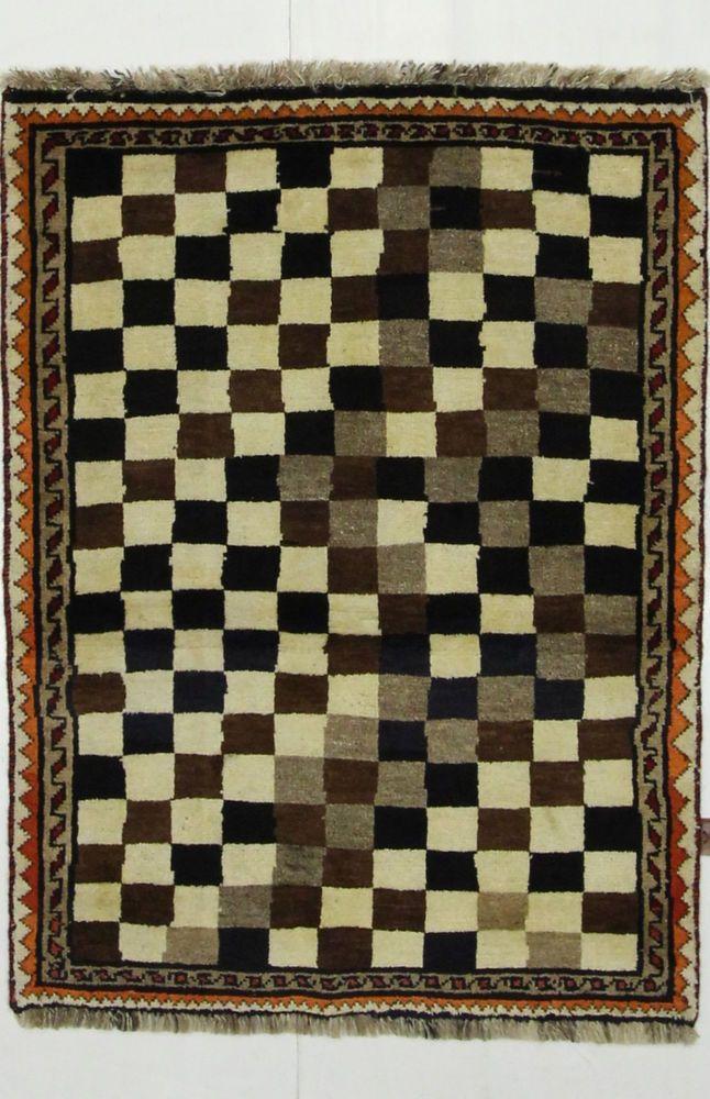 Qashqai Shiraz Perser Teppich Handgeknüpfte 153 x 93 cm