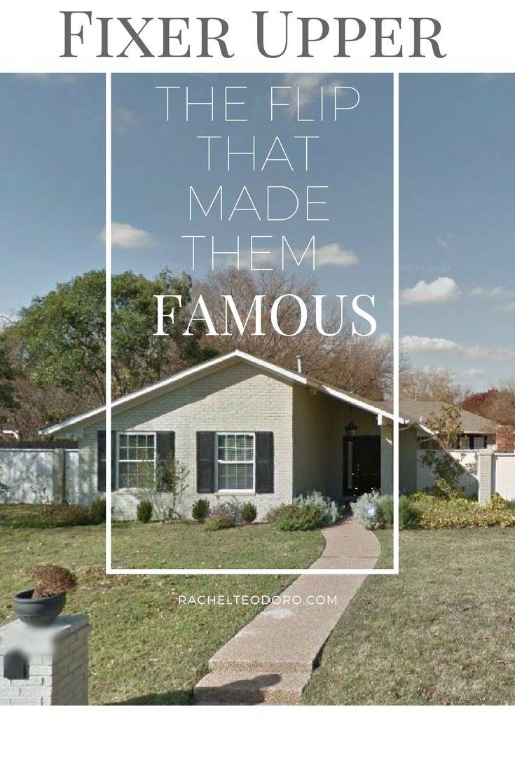 Fixer Upper The Flip That Made Them Famous is part of Fixer Upper The Flip That Made Them Famous Datfeatablog - Before Chip and Joanna Gaines got their HGTV show Fixer Upper, they were known for flipping homes all over Waco, Texas  It was when the Gaines current home was featured on DesignMom blog that she was discovered  Come see the before and afters of the flip that made the Gaines family famous