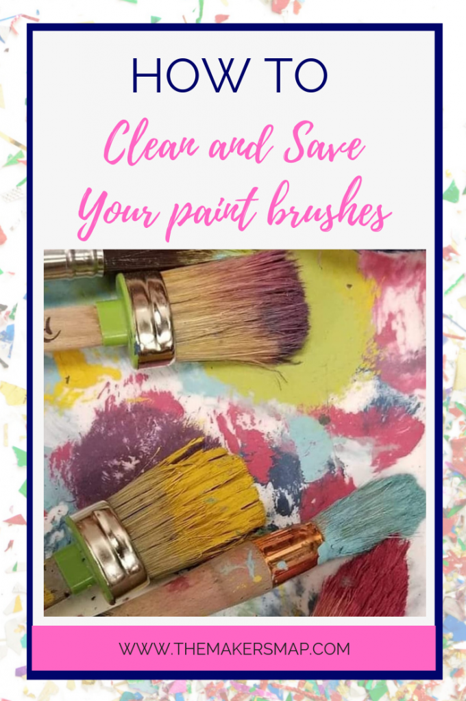 Cleaning your dried up Paint Brushes (With images) Brush