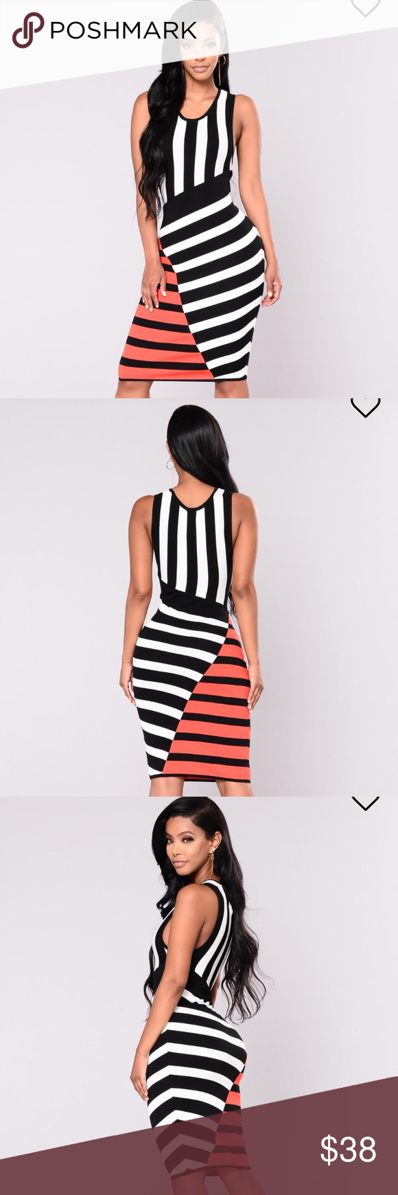 7d6d5968cce Black And White Striped Dress Fashion Nova - Data Dynamic AG