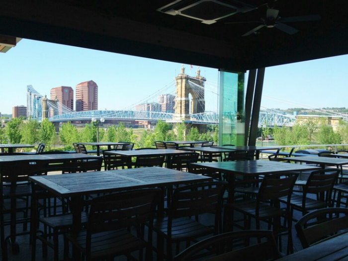 8 Restaurants With Incredible Rooftop Dining In Ohio Waterfront Restaurant House Cincinnati Breweries