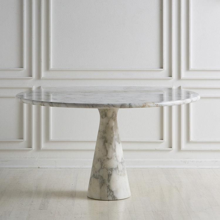 M1 Carrara Marble Dining Table By Angelo Mangiarotti Dining