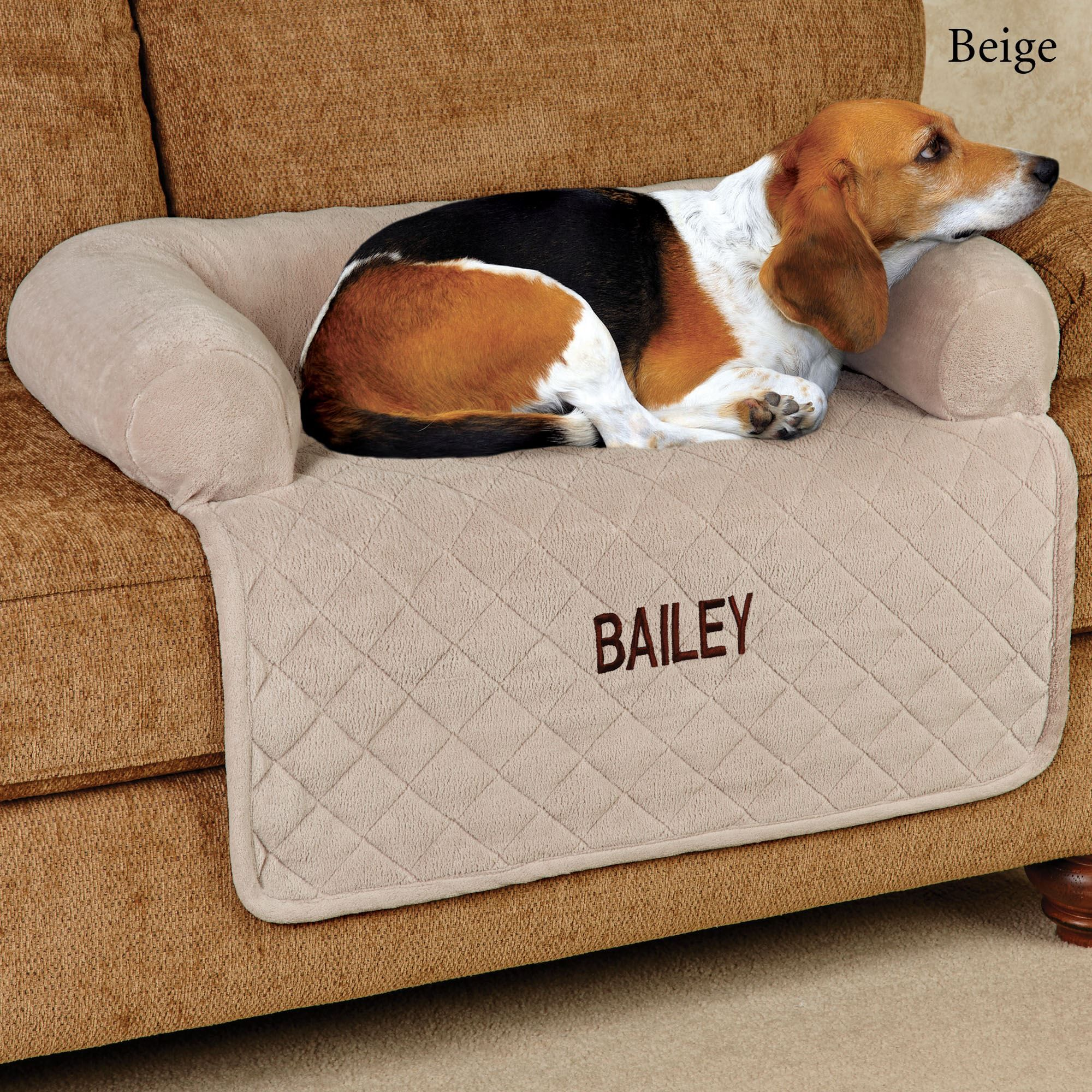 Ultimate Microplush Quilted Pet Cover With Bolster Pets Dog Bed