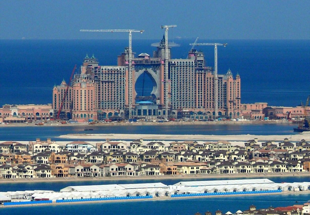 Wonderful The Majestic Atlantis Resort Under Construction