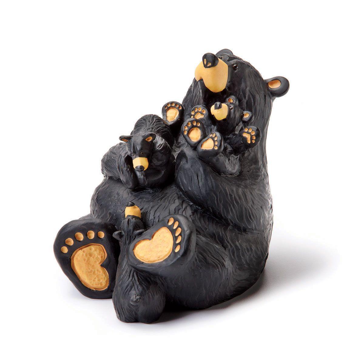 bearfoots bear jeff fleming big sky carvers figurine home again