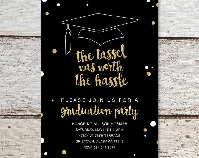 printable graduation invitation graduation announcement tassel was