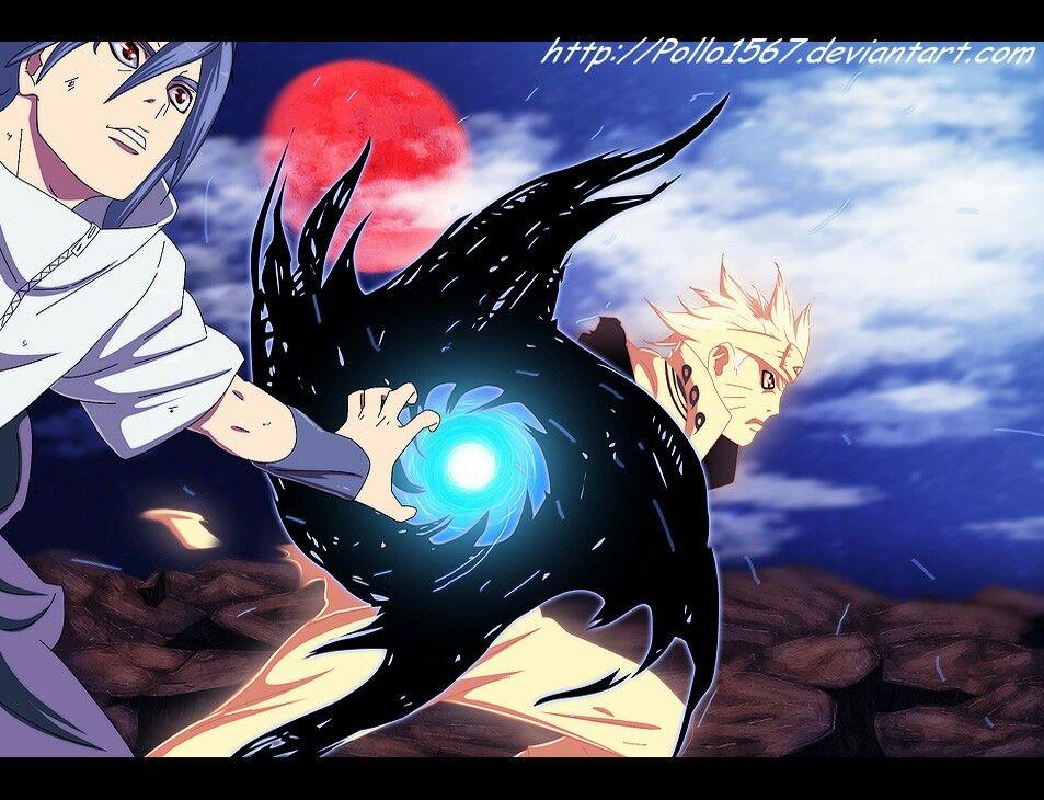 Enton Rasenshuriken Com Imagens Naruto Cenas