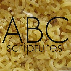 Bible verse for every letter of the alphabet with crafts & activities [awesome! i love it when subjects overlap]