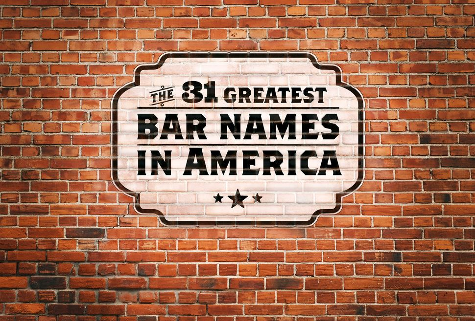 The 31 Greatest Bar Names in America Secret bar, Cool