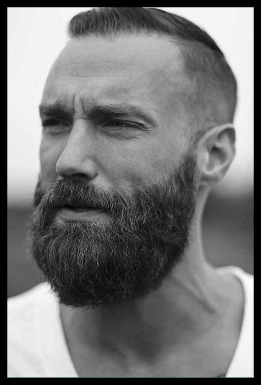 Very Short Haircut For Men Beard Styles Beard Styles For