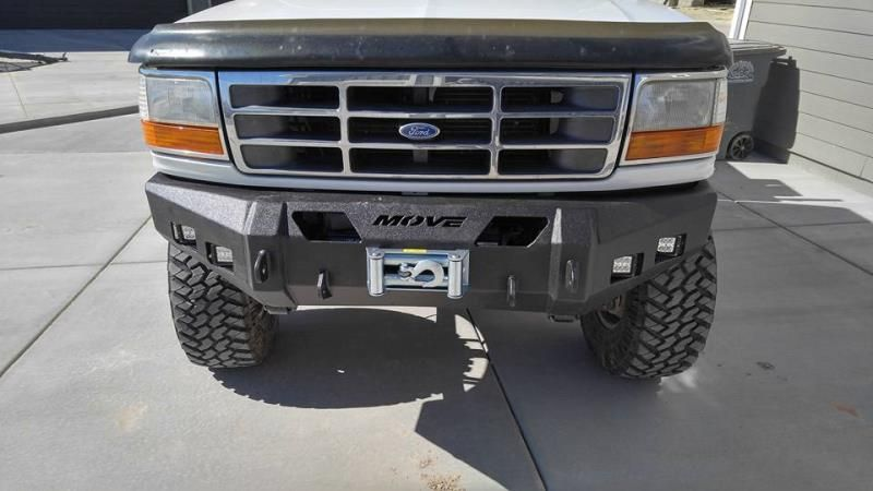 Check Out This Sweet Diy Bumper From Movebumpers Truckbuild