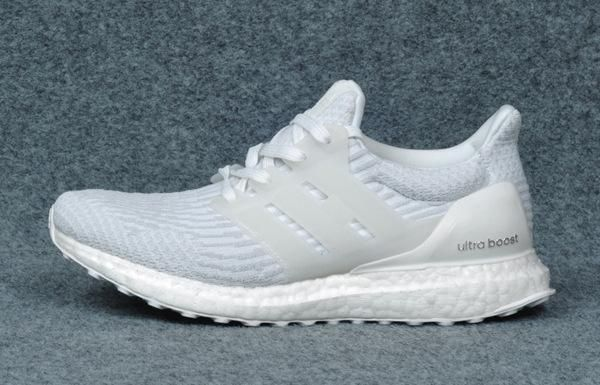 2413fcefc6786 NEW Adidas Ultra Boost 3.0 Triple White Ultraboost Running Men Women ...