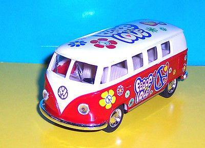 Volkswagen #camper bus 1962 red #tampo print 1/32 #model new boys toys ,  View more on the LINK: 	http://www.zeppy.io/product/gb/2/332078471357/