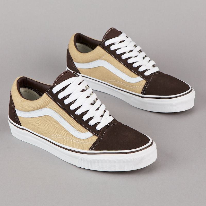 Vans Old Skool Coffee Khaki | Vans shoes, Vans, Vans old skool