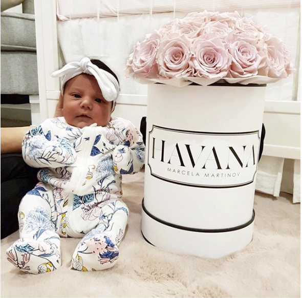 Lasting Roses for baby Havana. The box will make for such great nursery storage and a beautiful keepsake too. These are real roses that have been treated and preserved at their prime to last YEARS!! #cartelflowers #cartelcustomer #thecartellife #personalisedflowers #flowerbox #personalisedflowerbox #personalised #flowers #boxedroses #roses #dailyblooms #boxedflowers #luxury #luxuryliving #ladyluxury #giftideas #happy #melbourne #potd #pretty #love #baby #gifts