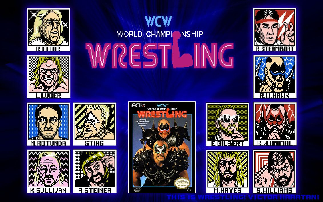 Image result for wcw nes