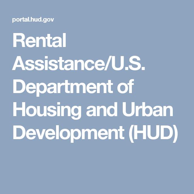 Rental Assistance U S Department Of Housing And Urban Development Hud Financial Assistance Development Financial Help