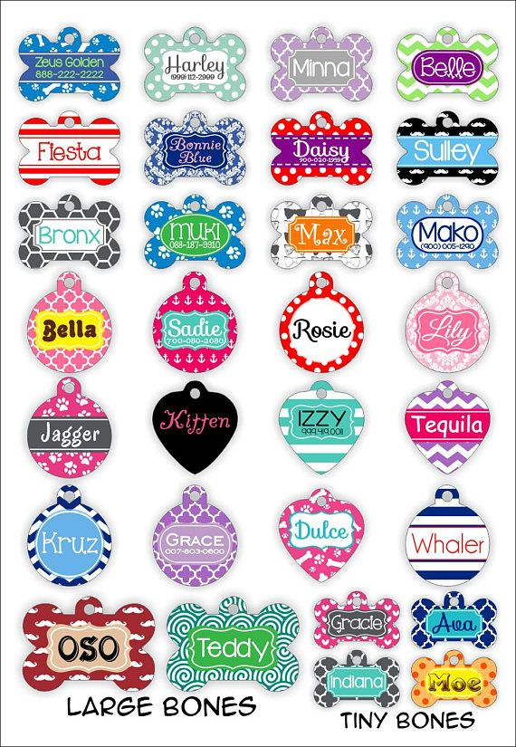Double Sided Personalized Pet Tag Personalized Dog Tag Custom Dog Tag Custom Pet Tag Pet Gift Dog Gi