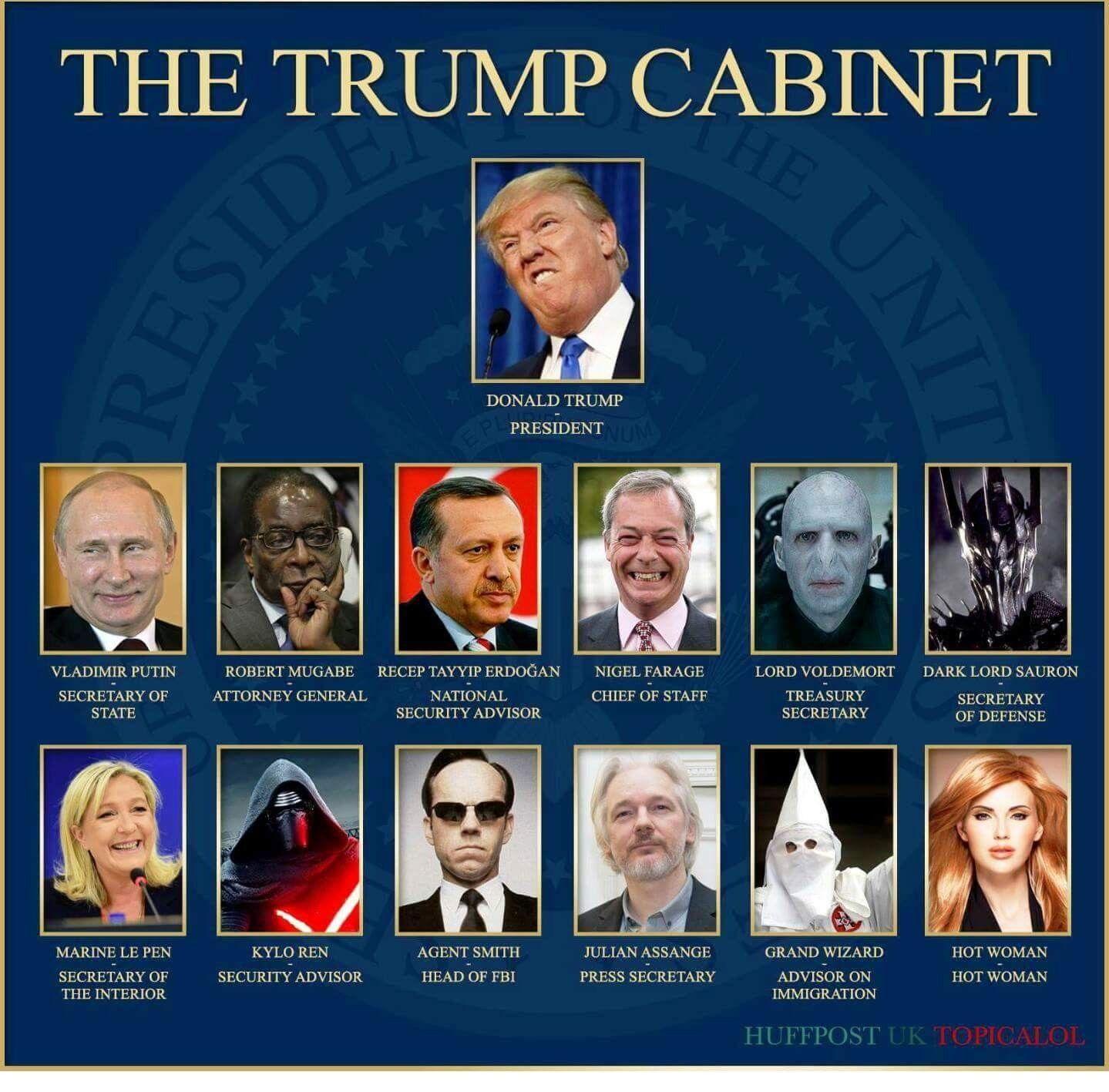 """""""The Trump cabinet"""""""
