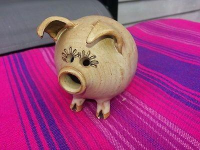 Cute Pottery Pig
