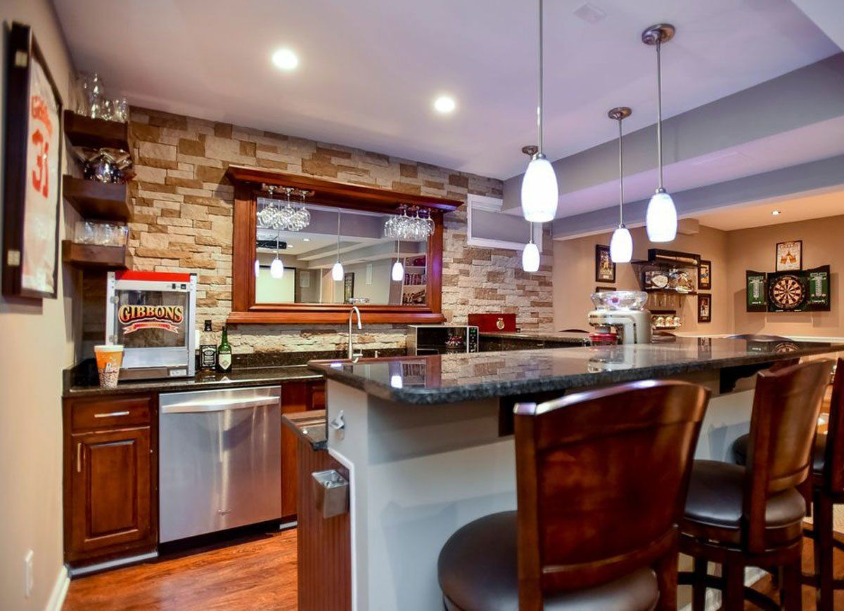 Why Go Out 12 Bars You Can Build At Home Basement Bar Plans Basement Bar Design Bars For Home