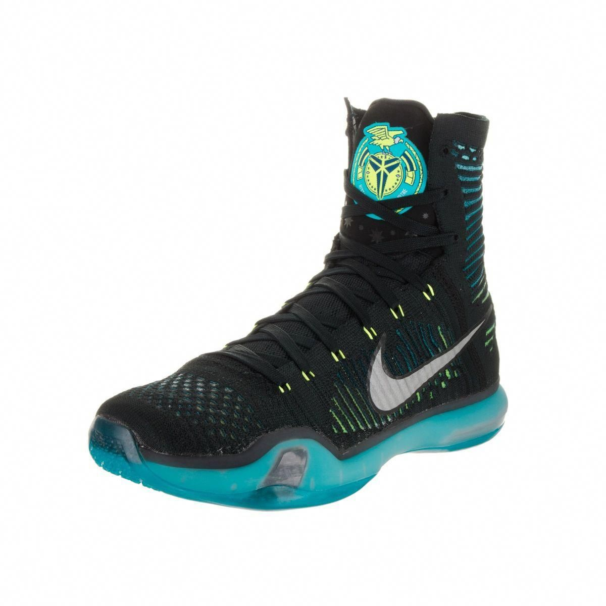 purchase cheap 53e09 6a3a7 Nike Men s Kobe X Elite and Blue High-top Basketball Shoes  basketballonline
