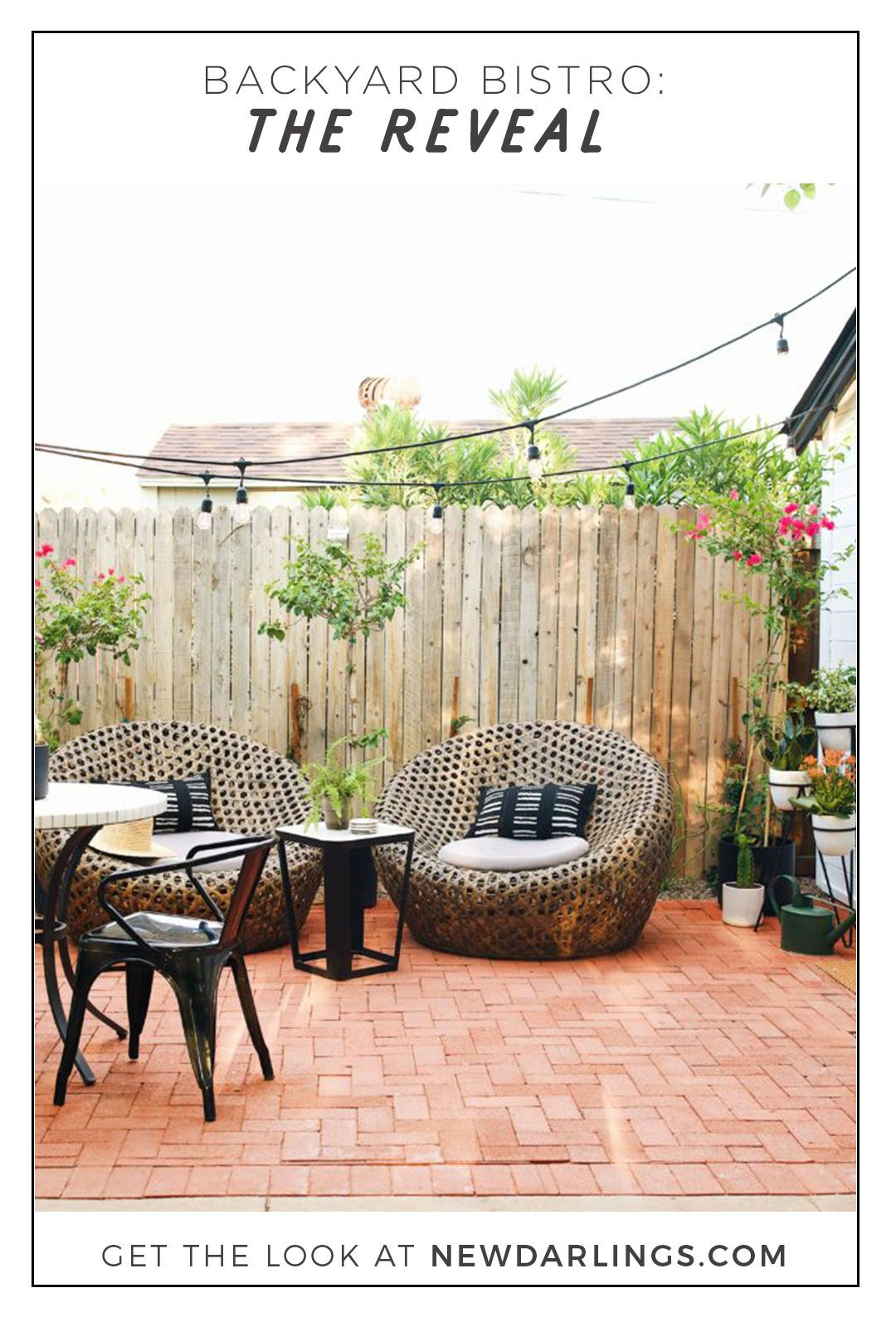 The Backyard Bistro our backyard bistro area: the reveal in 2018 | new darlings