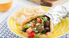 Vegan Gyro (with Homemade Seitan) & Tzatziki Sauce – Delightful-Delicious-Delovely