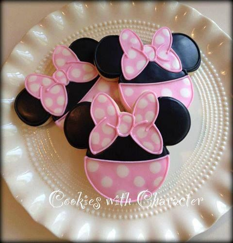 Walmart Mickey Mouse Smash Cake: Pinky Minnie Mouse Cookies