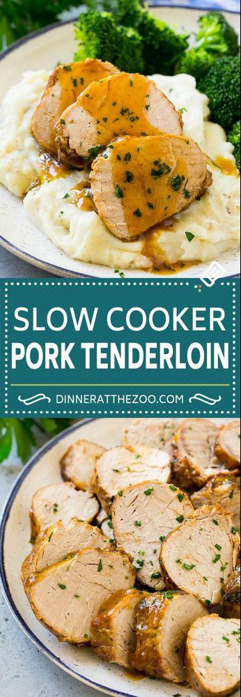 Photo of Slow Cooker Pork Tenderloin