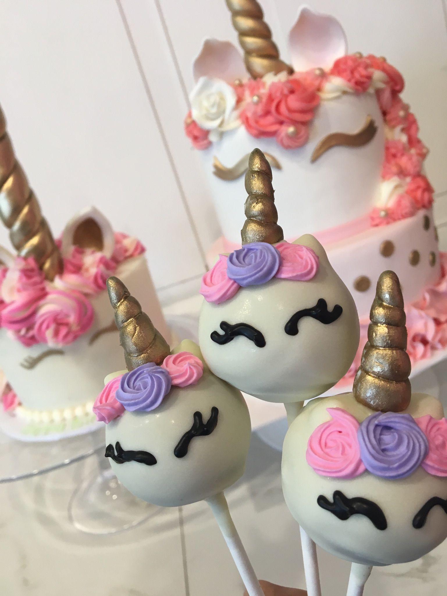 unicorn cake pops recipe