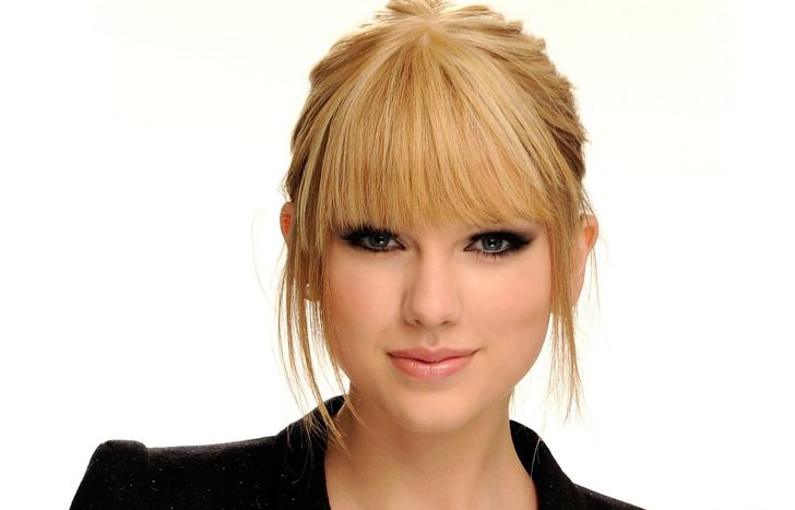 Recogido Con Flequillo Peinados Varios Pinterest Taylor Swift - Peinados-flequillo-recogido
